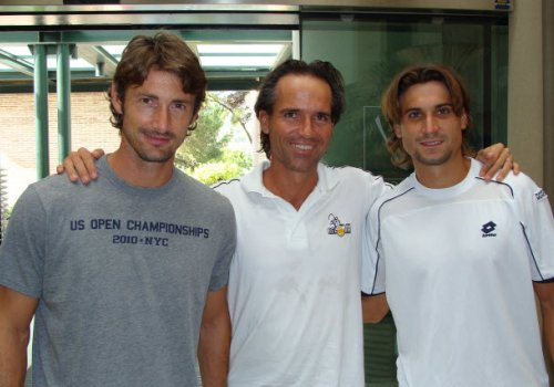 With some professional tennis players