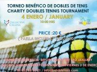 TORNEO BENÉFICO DE DOBLES DE TENIS / CHARITY DOUBLES TENNIS TOURNAMENT