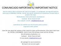 AVISO IMPORTANTE/ IMPORTANT NOTICE