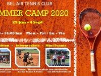 SUMMER TENNIS CAMP 2020 / CAMPAMENTO DE TENIS DE VERANO