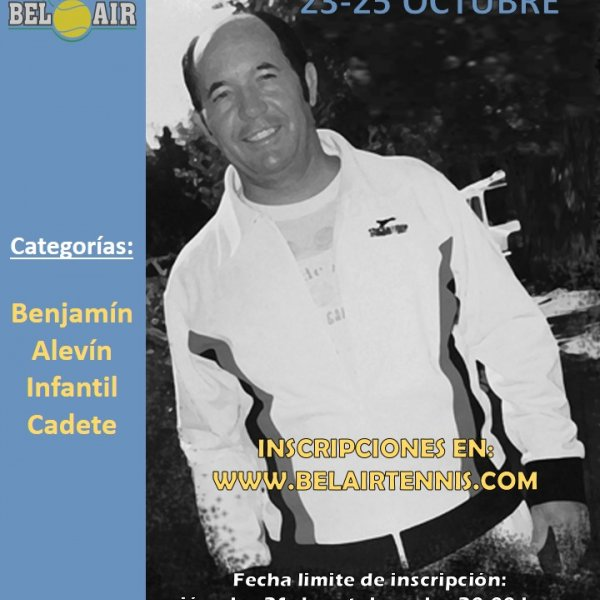 'TEO BARRIO' TENNIS TOURNAMENT