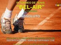 IX TORNEO DE TENIS 'BEL-AIR'