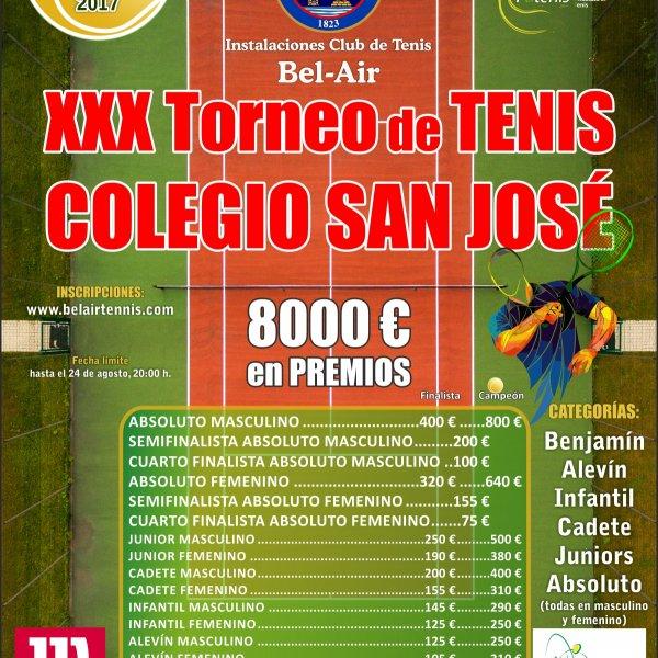 XXX Torneo de Tenis Colegio San José