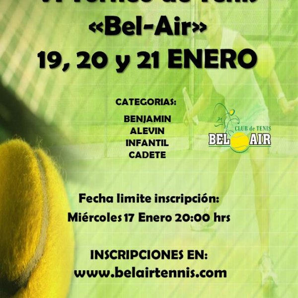 VI TORNEO 'BEL-AIR'