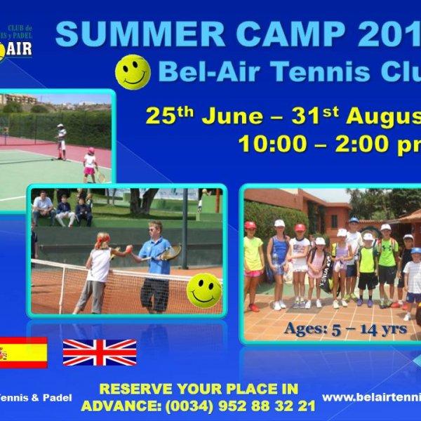 SUMMER TENNIS CAMP