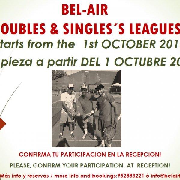SINGLES & DOUBLES LEAGUE