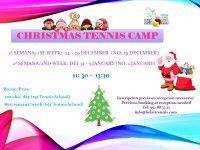 CHRISTMAS TENNIS CAMP