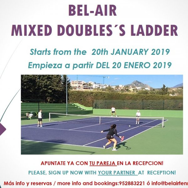 BEL-AIR DOUBLES´S MIXED LADDER