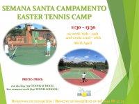 EASTER TENNIS CAMP/ CAMPAMENTO DE SEMANA SANTA
