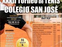 XXXII TORNEO DE TENIS COLEGIO SAN JOSÉ