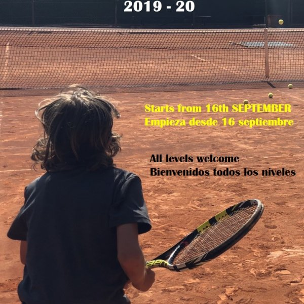 JUNIOR TENNIS SCHOOL / ESCUELA DE TENIS DE
