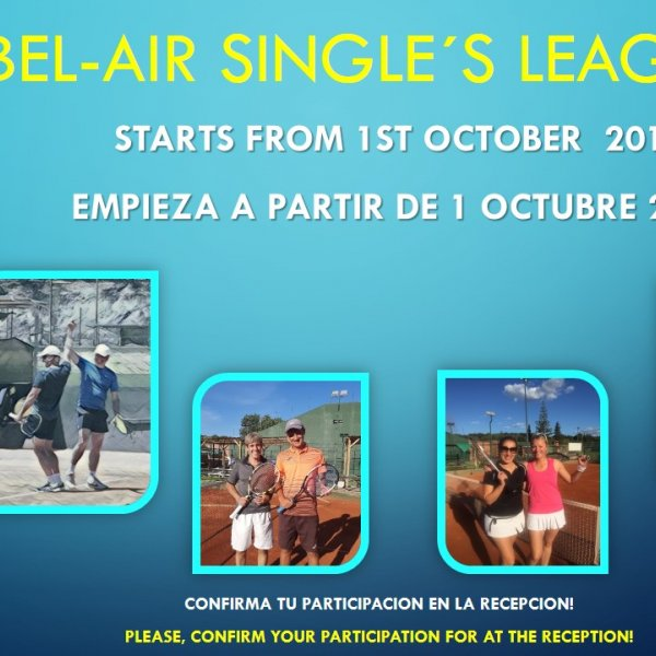 BEL-AIR SINGLE´S LEAGUE